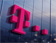Gevel T-Mobile pand